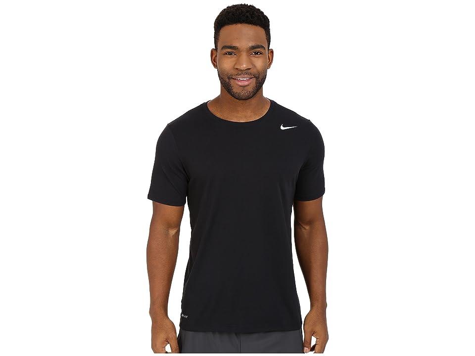 Nike Dri-FITtm Version 2.0 T-Shirt (Black/Black/White) Men