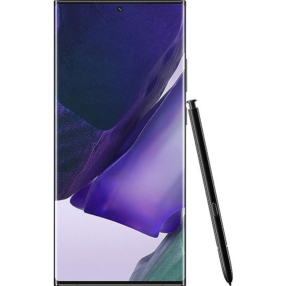 Samsung Galaxy Note 20 Ultra 5G with Snapdragon 865+ (Mystic Black, 12GB RAM, 256GB Storage)