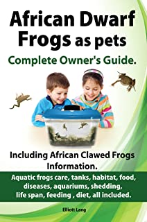 African Dwarf Frogs as pets.