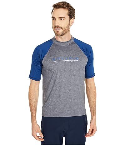 Rip Curl Shockwave Relaxed Short Sleeve UV Tee (Grey Blue/Asphalt) Men