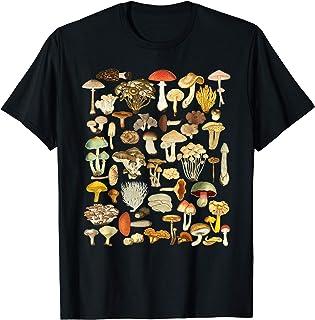 きのこシャツ菌類菌類採食きのこささやき Kinoko koibito gifuto Tシャツ