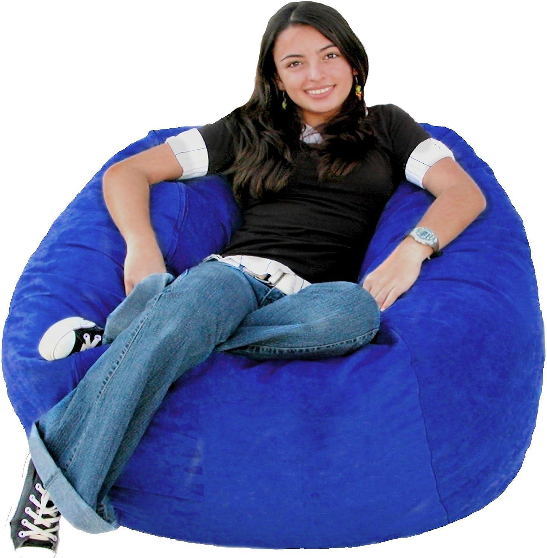 Cozy Sack 3-Feet Bean Bag Chair, Medium, Royal