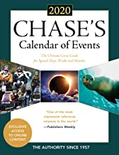 Chase's Calendar of Events 2020: The Ultimate Go-to Guide for Special Days, Weeks and Months