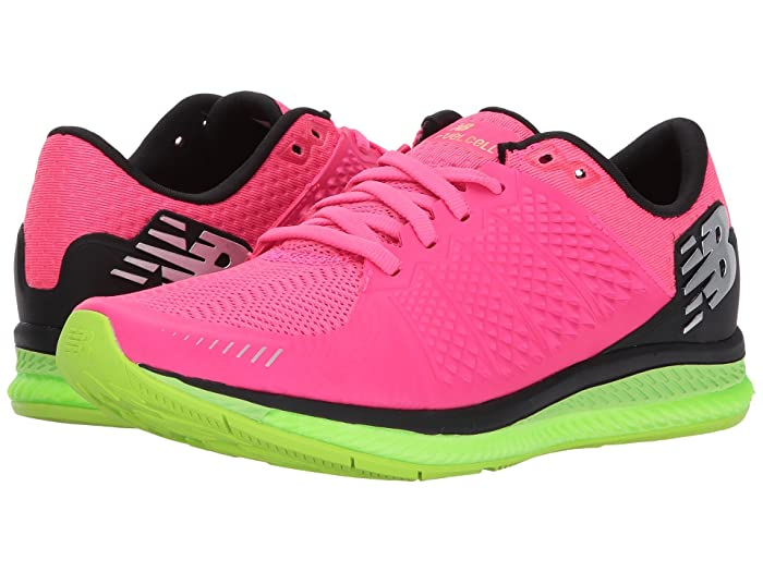 New Balance New Balance Fuelcell v1 (Alpha PinkLime GloBlack) Women's Running Shoes from 6pm | People