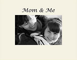 Infusion Gifts 3022SO Engraved Photo Frame, Mom and Me, Oyster