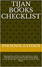 Tijan Books  Checklist: Reading Order of Fallen crest high Series, Carter Reed Series, Broken and screwed Series, Jaded Series, Whole new crowd Series and List of All Tijan Books