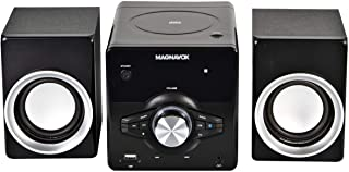 MAGNAVOX MM442 3-Piece Top Loading CD Shelf System with Digital PLL FM Stereo Radio, Bluetooth Wireless Technology, and Re...
