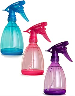 Empty Spray Bottles - 12 Oz Refillable Sprayer - pack of 3 - for Essential Oil, Water, Kitchen, Bath, Beauty, Hair, and Cl...
