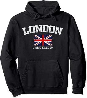 Vintage London United Kingdom Gift Hoodie