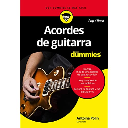 Acordes de guitarra pop/rock para Dummies: Amazon.es: Polin ...