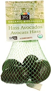 365 Everyday Value, Organic Hass Avocados, 4 Count