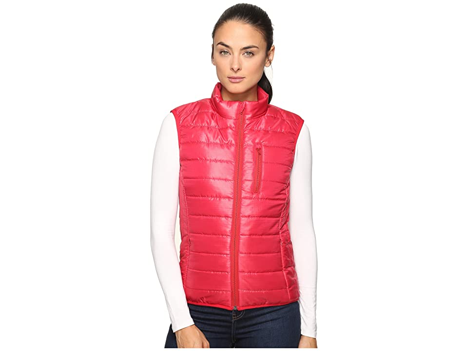United By Blue Bison Quilted Vest (Red) Women