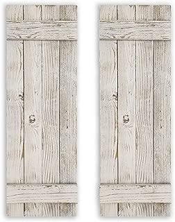 Best rustic farmhouse shutters Reviews