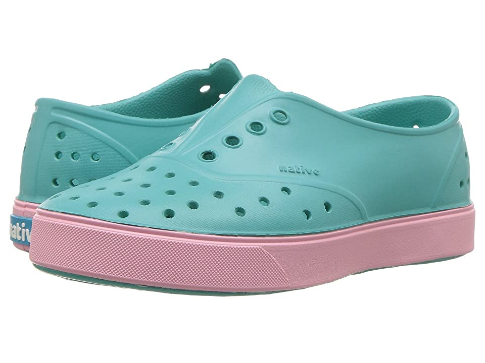 Native Kids Shoes Miller (Little Kid) (Pool Blue/Princess Pink) Girls Shoes