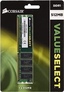 Corsair 512MB (1x512MB) DDR1 400 MHz (PC 3200) Desktop Memory