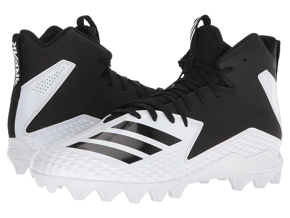 adidas Freak Mid MD (Footwear White/Core Black/Core Black) Men