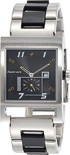 Fastrack Party Analog Black Dial Men's Watch -NM1478SM01 / NL1478SM01