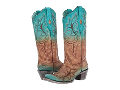 Corral Boots A3784 (Turquoise) Women