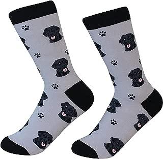 Black Labrador Retriever Dog Breed Socks Unisex Sock Daddy by E&S Pets