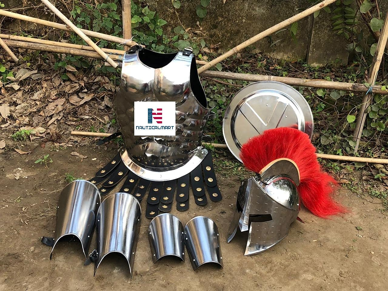 Nautical-Mart Medieval Roman King Leonidas W Spartan Challenge the lowest Year-end gift price of Japan ☆ 300 Helmet