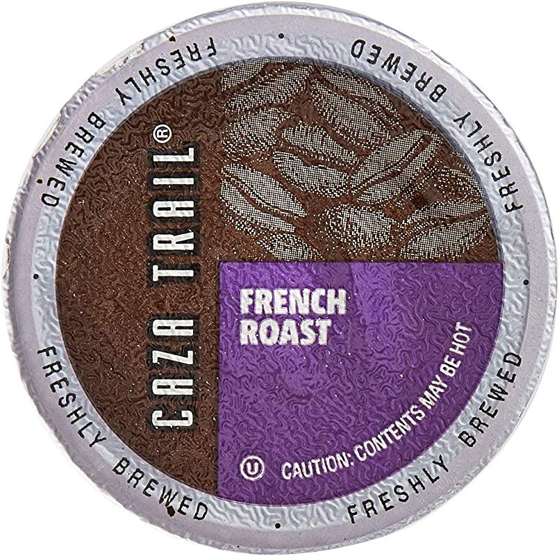 Caza Trail Coffee French Roast 100 Single Serve Cups