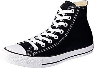 Converse Unisex Chuck Taylor Hi Basketball Shoe (9.5 Men 11.5 Women, Black Monochrome)