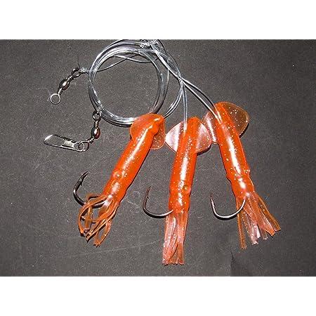 Details about  /Luminous Lure 1*30cm//150gCasting Octopus Skirt Swimbait Crankbait Resin+PVC