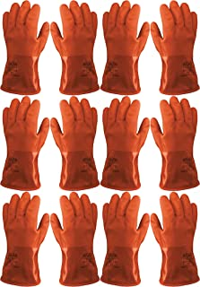 Atlas 460 Vinylove Cold Weather PVC Insulated Freezer X-Large XL Gloves, 6-Pairs