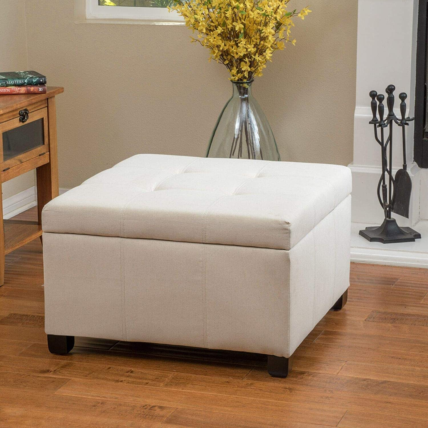 Palaney Isabeth Hardee Storage New Shipping Free Shipping Outlet SALE Tufted Ottoman
