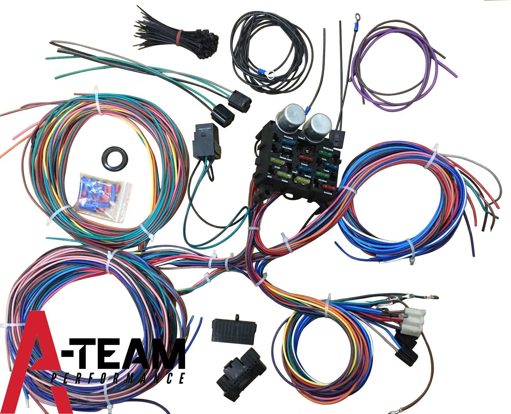 Best Street Rod Wiring Harness | Wiring Diagram on rear suspension for street rod, tires for street rod, heater for street rod, fuel gauge for street rod,