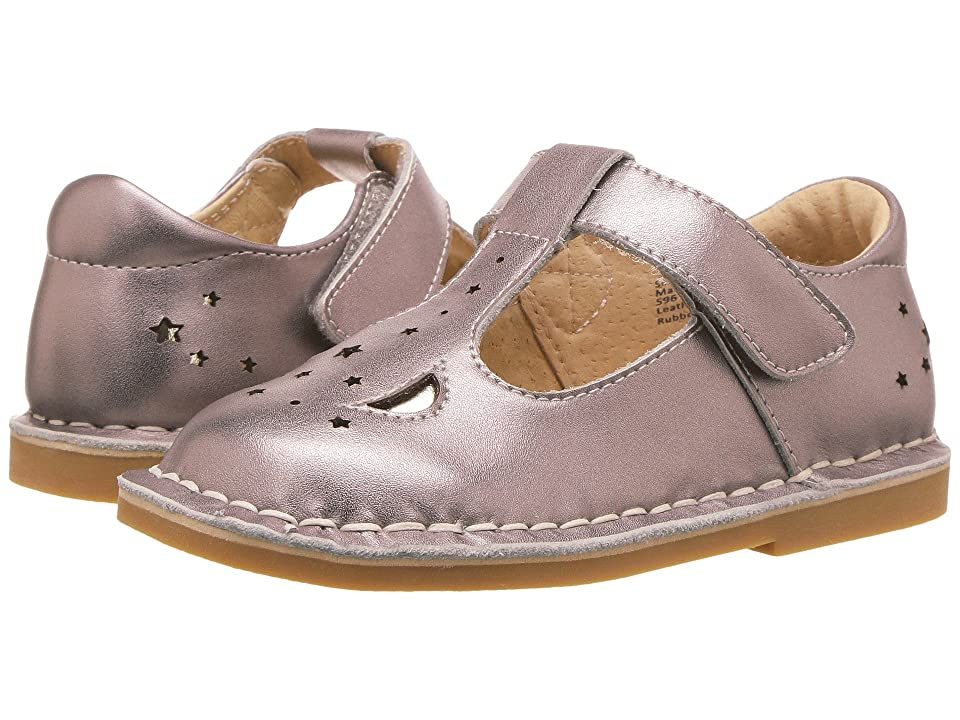Livie & Luca Mae (Toddler/Little Kid) (Pewter Metallic) Girl