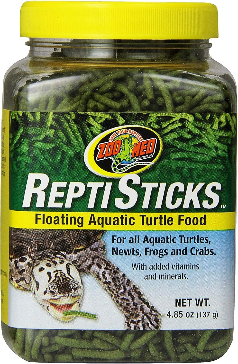 Zoo Med Reptisticks - Floating Aquatic 5 oz Turtle Free shipping Nippon regular agency New Food o Pack