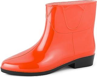 Amazon.es: Naranja Botas Zapatos para mujer: Zapatos y