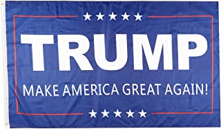 Donald Trump for President Make America Great Again BLUE FLAG 3x5 Feet Printed Flag with Grommets