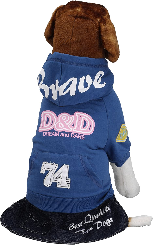 Light Blue 22 x 35 x 20 cm Europet Bernina International Dog Sweater Bravedog