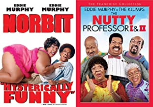 Sherman Klump is one Nutty Guy Movie Pack The Nutty Professor & The Klumps Franchise Collection + Norbit Eddie Murphy Comedy DVD 3 Movie Funny Man Triple Pack