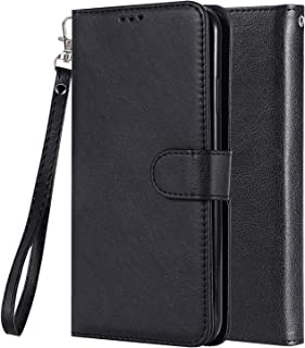 LEMORRY Carcasa para Xiaomi Mi A2 Lite (Redmi 6 Pro) Funda Estuches Multifuncional Piel Cuero Billetera Cover con 2in1 Tar...