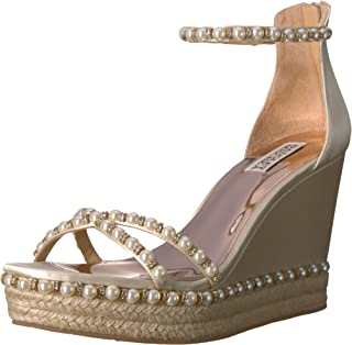 Badgley Mischka Women's Sloan Espadrille Wedge Sandal