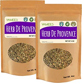 Sponsored Ad - Yamees Dry Herbs - Bulk Herbs - Herb De Provence - Bulk Spices - 2 Pack of 4 Ounce Bag