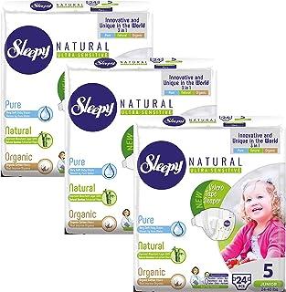 Sleepy Natural Diapers Size Hypoallergenic