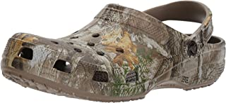 crocs Classic Realtree Edge Clog, Walnut, 11 US Men/ 13 US Women M US