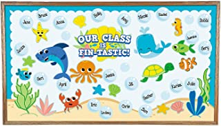 Under The Sea Bulletin Board Set - Educational Classroom Decorations - 71 Pieces