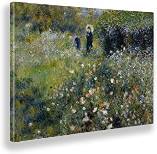 30 x 20 cm Le D/éjeuner des Canotiers 1art1 Pierre Auguste Renoir Poster Reproduction sur Toile Tendue sur Ch/âssis 1880-1881