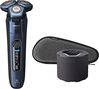 Philips S7782/71 Wet and Dry Electric Shaver 7000 Series, Blue - Pack of 1
