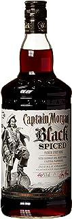 Captain Morgan Spirituose auf Black Spiced Rum-Basis mit Gewürzen und natürlichen Aromen 1 x 1 l