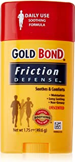 Gold Bond Friction Defense, Unscented, 1.75 Ounces each (Value Pack of 4)