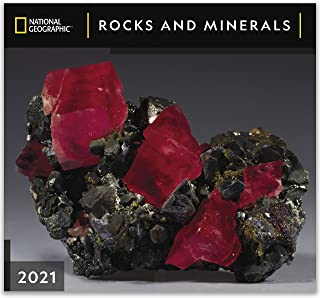 National Geographic Rocks and Minerals 2021 Wall Calendar