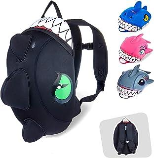 Crazy Safety | Mochila de Dinosaurio para niños. Ideal para la guardería, el Preescolar, el jardín de Infantes y para Viaj...