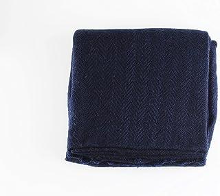Artemisa   Throw Ares - Cobija de Cashmere Azul Marino