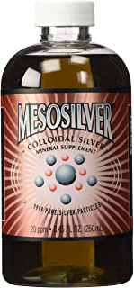 MesoSilver ® 20 ppm Colloidal Silver 250 mL/8.45 Oz